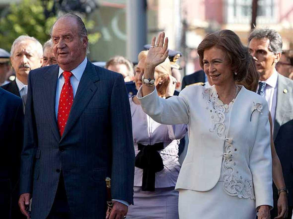 Los Reyes de España han presidido este viernes la sesión conmemorativa del bicentenario de las Cortes Constituyentes de San Fernando de 1810