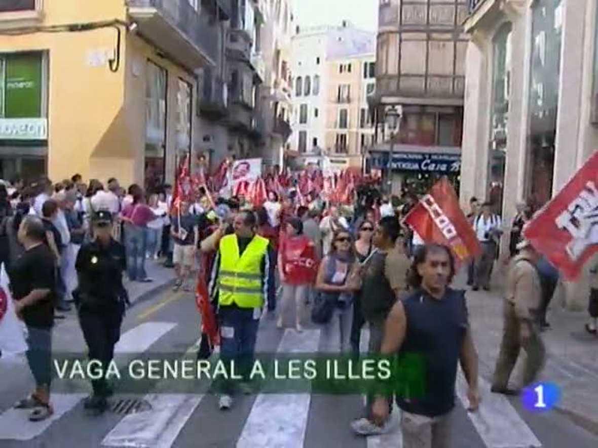 Informatiu Balear. Informatiu de les Illes Balears. (29/09/10)