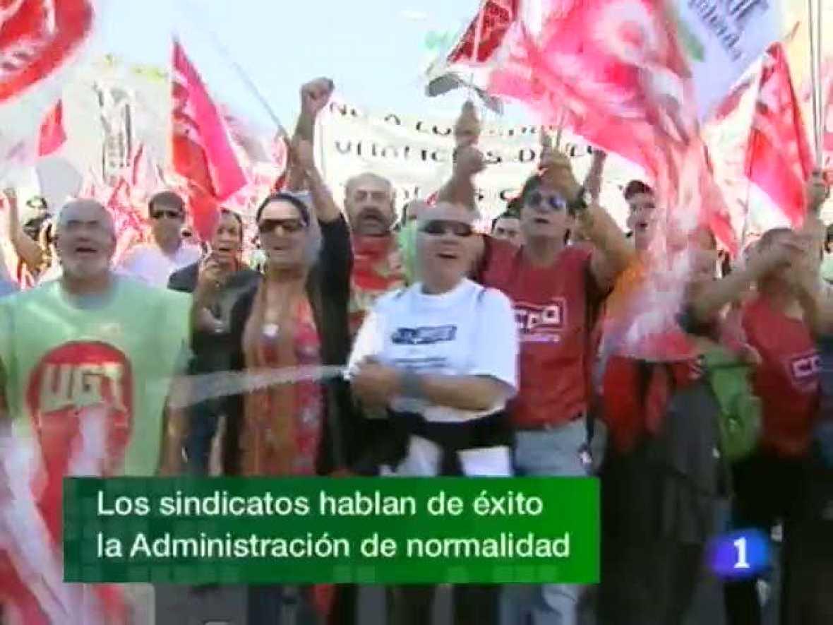 Noticias de Extremadura. Informativo Territorial de Extremadura. (29/09/10)
