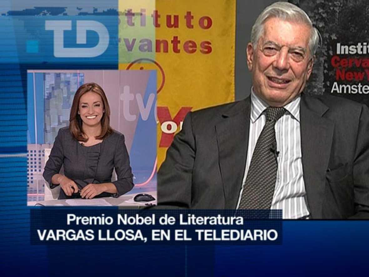 Entrevista íntegra a Mario Vargas Llosa en el TD2
