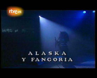 Fangoria. Actuación Iberpop 1990.