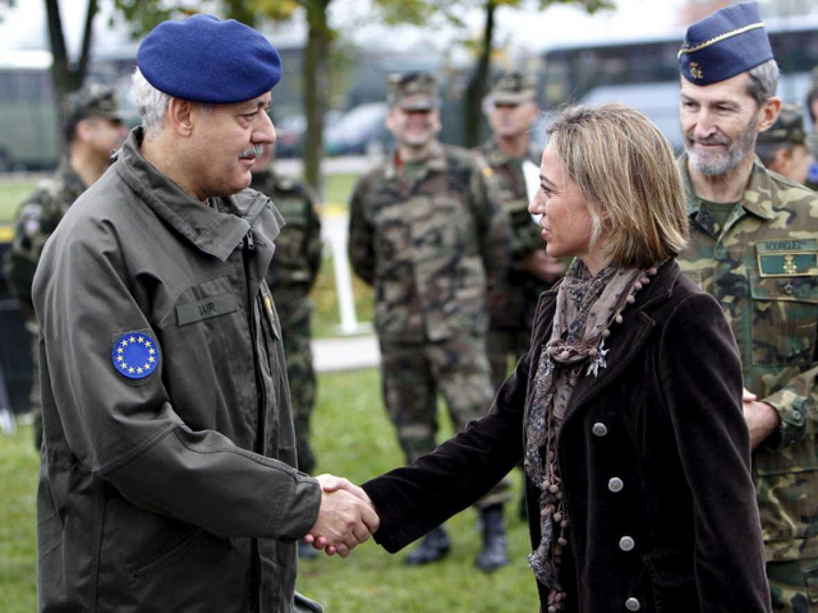 Fin de la misión en Bosnia