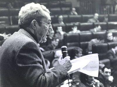 Marcelino Camacho, líder histórico de CC.OO