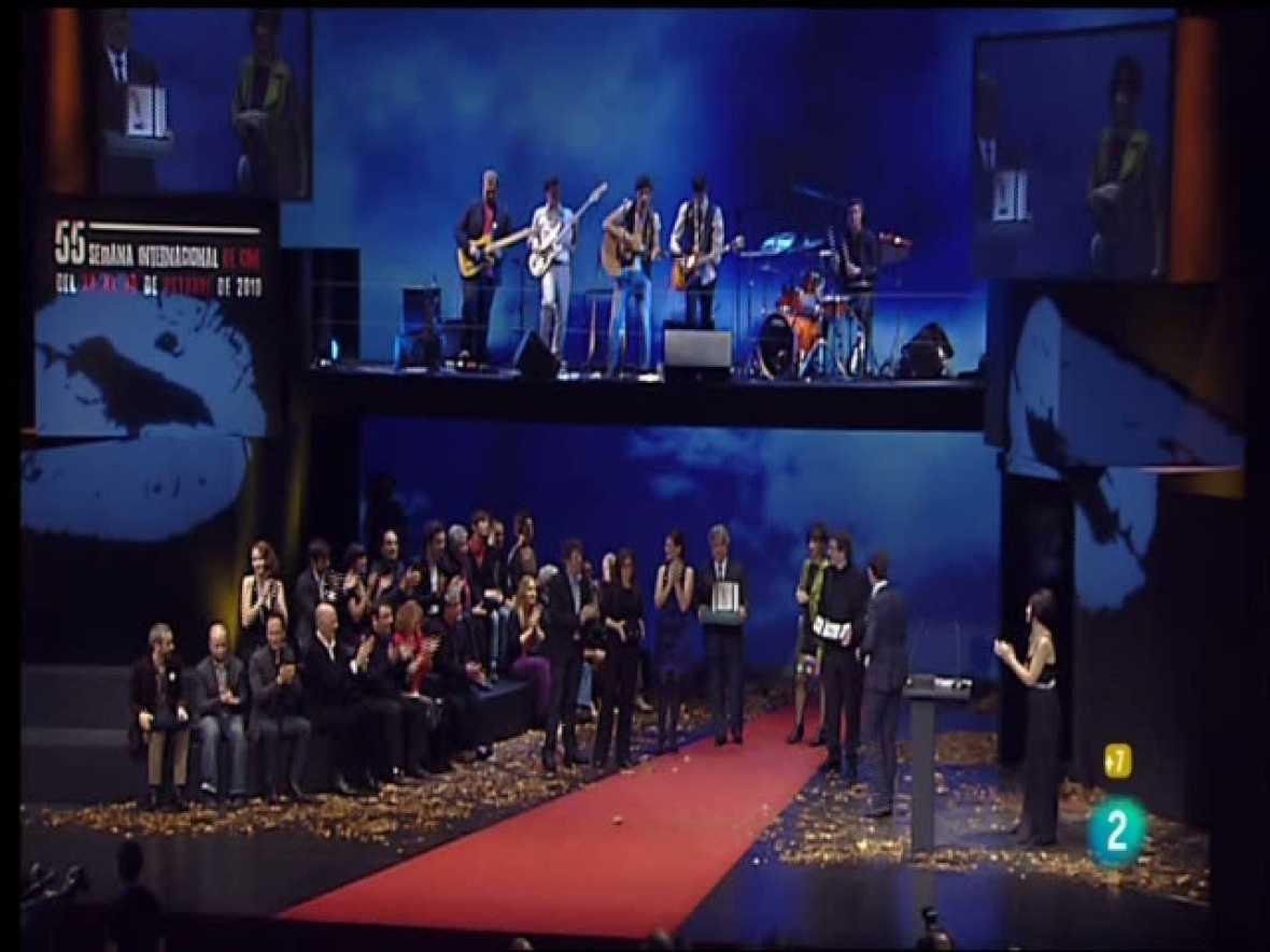 SEMINCI: Gala clausura del Festival de Cine de Valladolid 2010 (30/10/10)