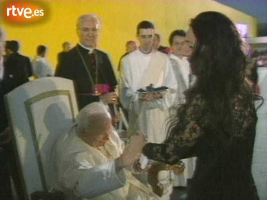 La huella del papa en España
