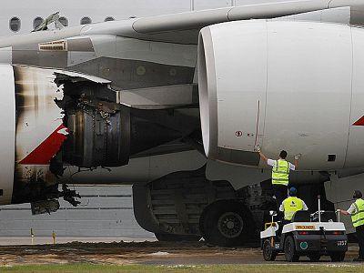 Un Airbus 380 ha tenido que realizar esta madrugada un aterrizaje de emergencia