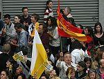 Scouts de todo el mundo en Barcelona para ver al Papa