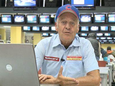 El comentarista de TVE Dennis Noyes recuerda el título mundial conseguido por Nicky Hayden en 2006, en la última carrera ante Valentino Rossi.