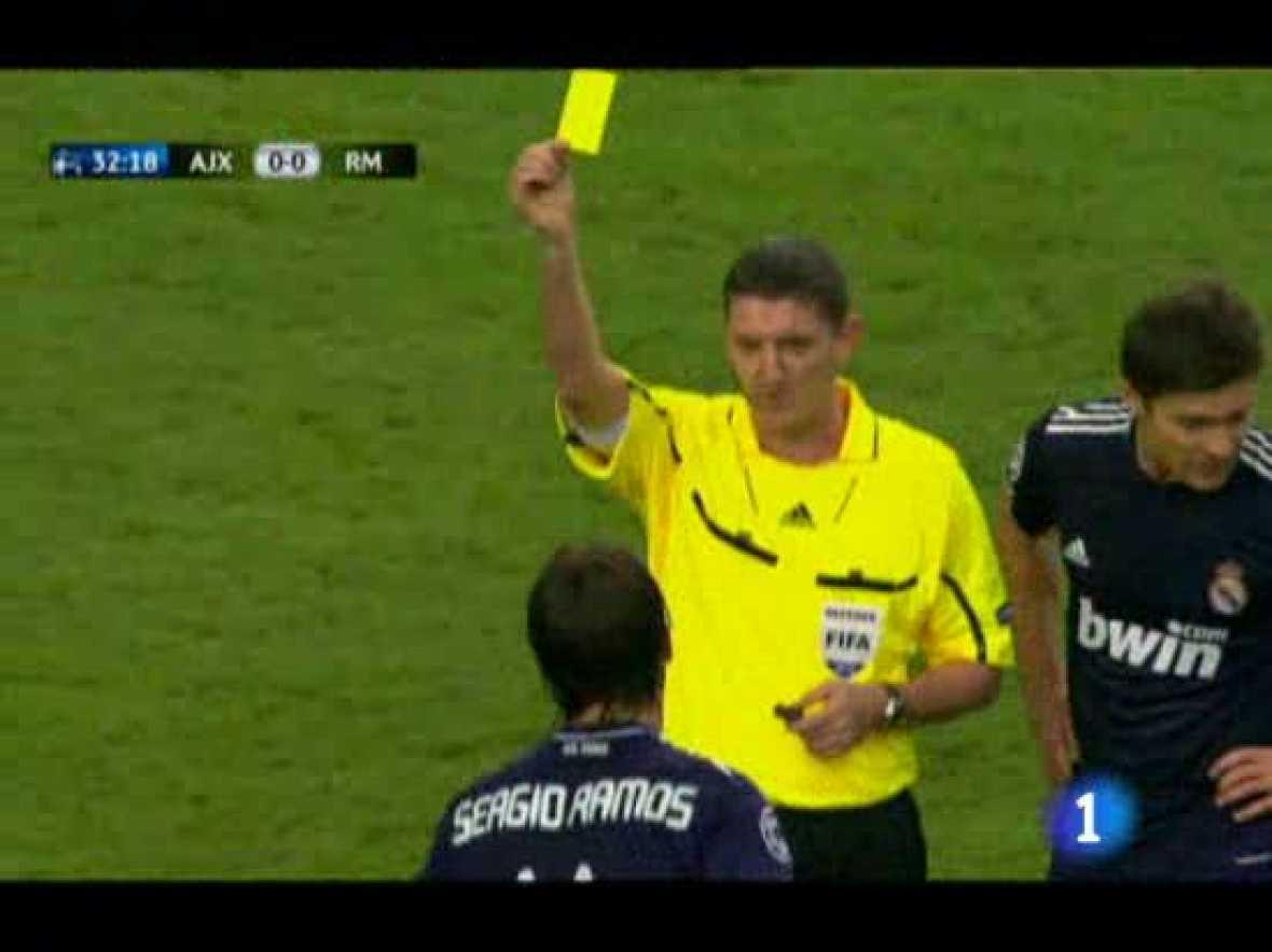 Mourinho se quejó de las primeras tarjetas a Ramos y Alonso, pero las segundas podrían haber sido ordenadas por él