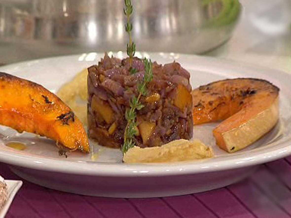 Saber cocinar lombarda con salteado de baicon y manzana for Cocinar lombarda