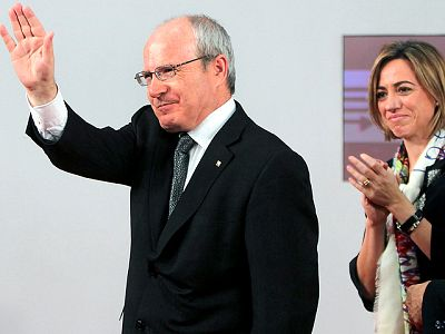 José Montilla reconoce la derrota de su partido y anuncia que no volverá a ser el pròximo secretario general del PSC.