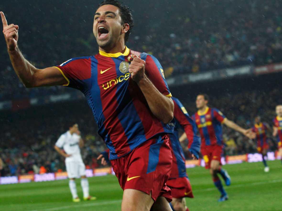Tres de los cinco goles del Barça al Madrid fueron anotados por jugadores formados en la cantera azulgrana: Xavi, Pedro y Jeffren
