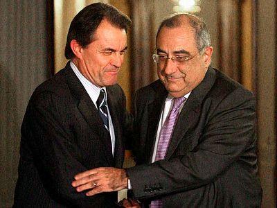 """Nadal (PSC) promete a Mas (CiU) una oposición """"dura"""", pero abierta a acuerdos de país"""