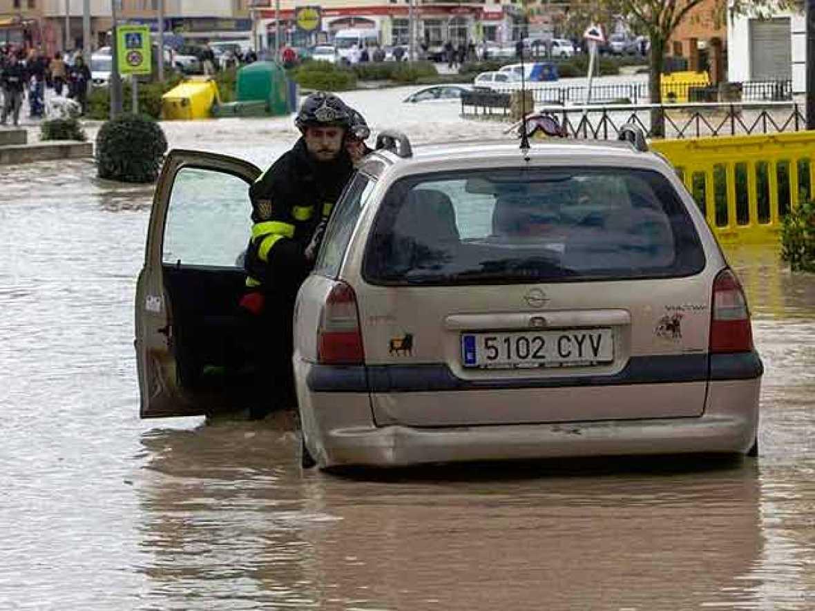Écija y Palma del Río, dos de las localidades andaluzas más afectadas por el temporal