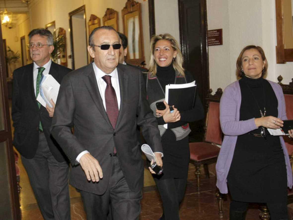 Carlos Fabra ha defendido su inocencia ante los medios