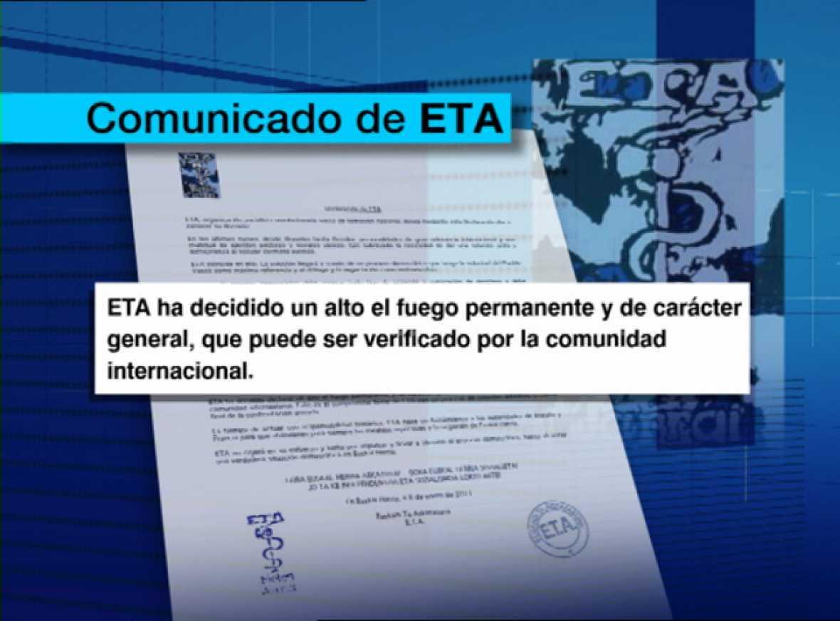 El comunicado de ETA deja abiertas varias incógnitas