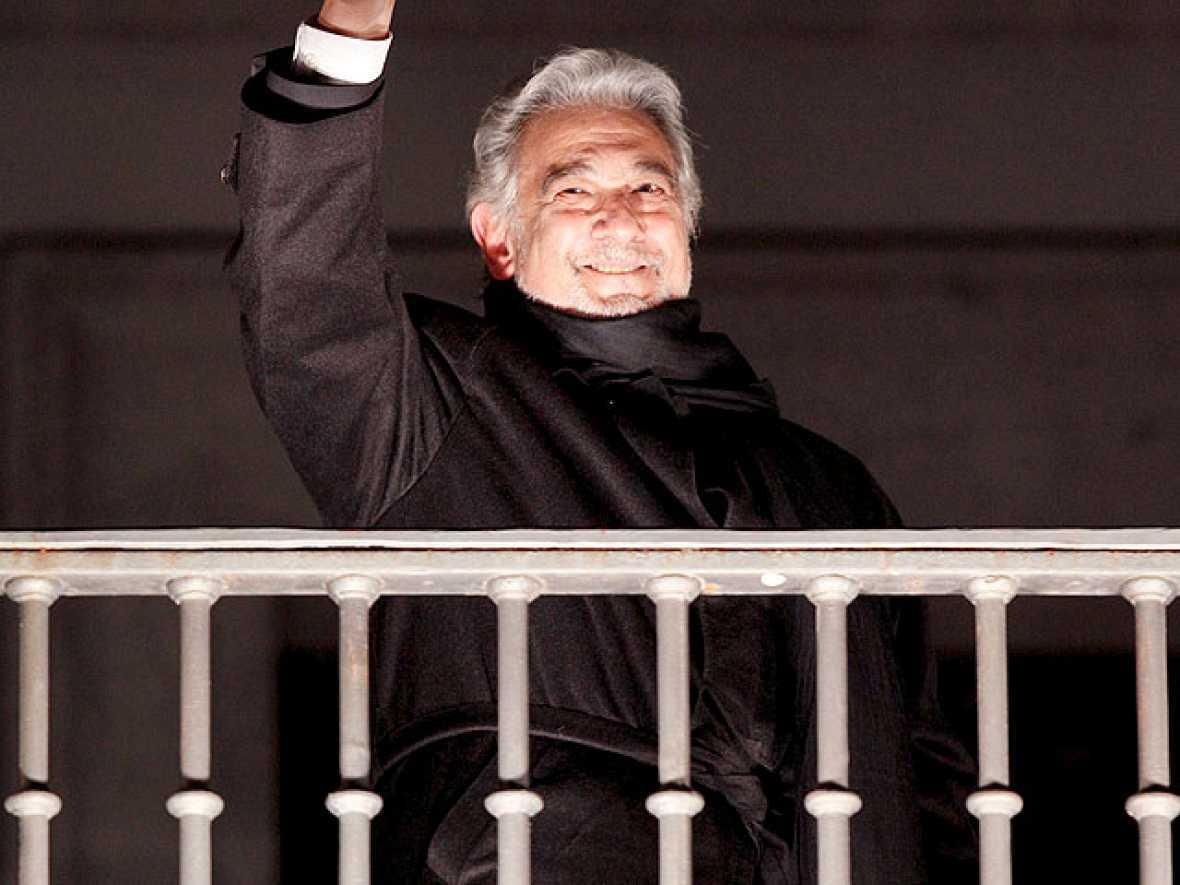 """Plácido Domingo: """"Estaré en un escenario hasta que pueda respirar"""""""