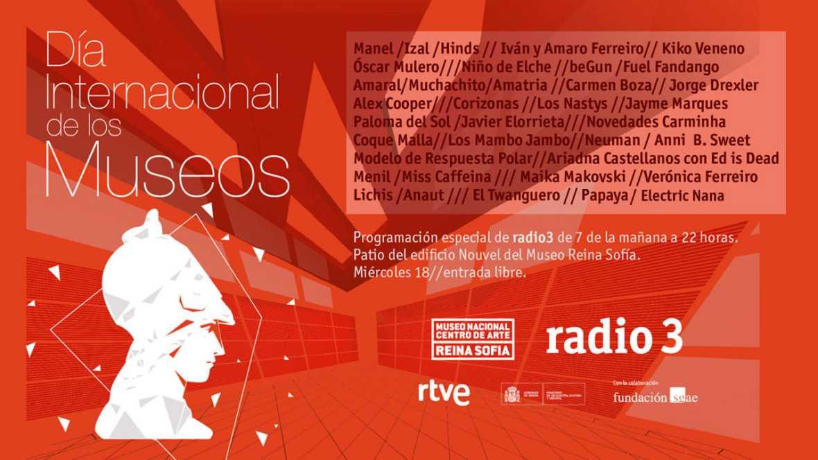 Radio 3 en el Museo Reina Sofía