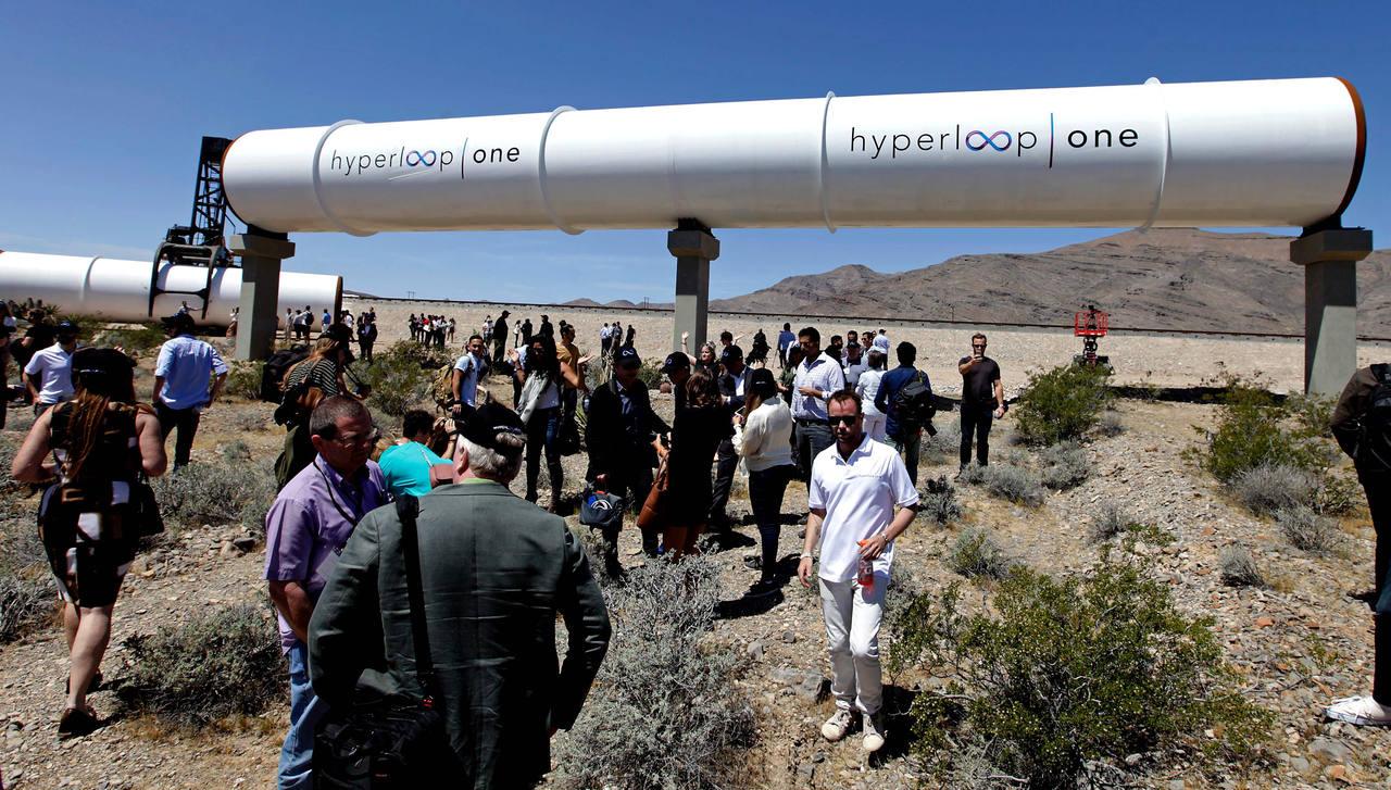 El tubo del Hyperloop One