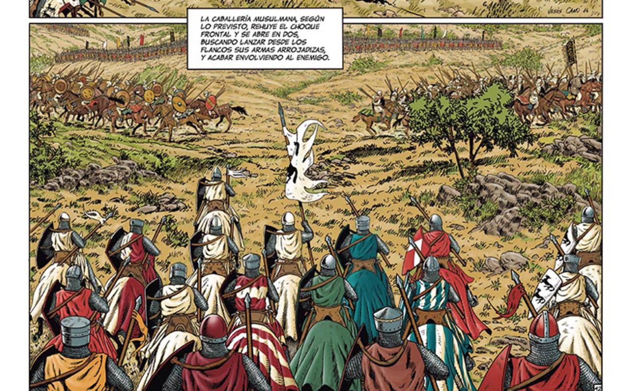 Viñetas de '1212. Las Navas de Tolosa'