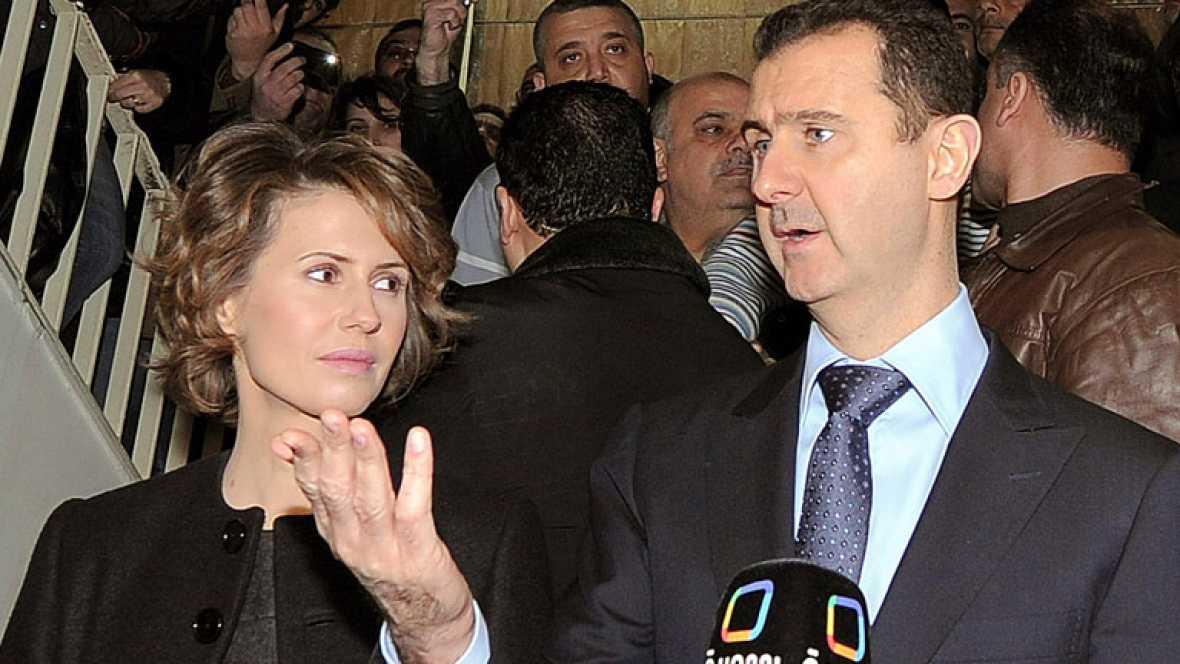 La esposa de Bachar al Asad, en la lista de las nuevas ...