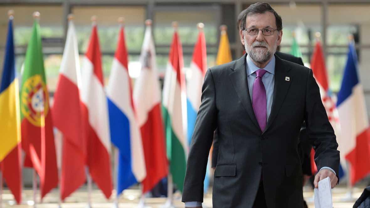 """Rajoy considera que las propuestas del Consejo Europeo sobre el """"Brexit"""" """"le valen a España"""""""